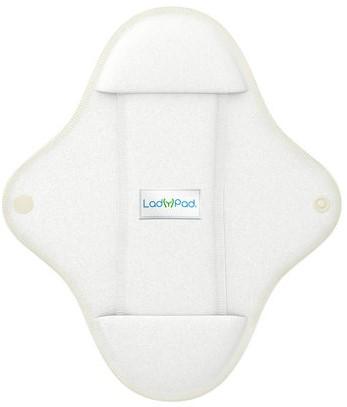 LadyPad Wasbaar maandverband & liner Wit - Smal