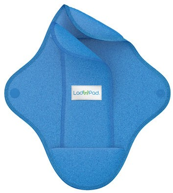 LadyPad Wasbaar maandverband & liner Blauw - Medium