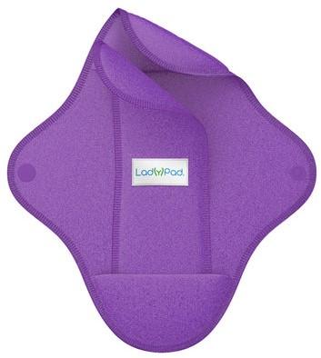 LadyPad Wasbaar maandverband & inlegger Paars - Medium