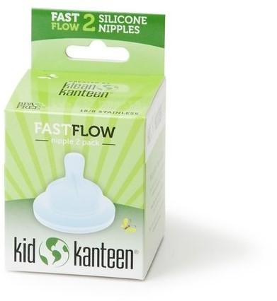 Kid Kanteen Spenen voor RVS Babyfles - Fast