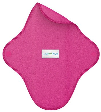LadyPad Wasbaar Inlegkruisje Fuchsia - Medium