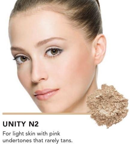 INIKA Loose Mineral Foundation SPF25 - Unity