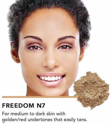 INIKA Loose Mineral Foundation SPF25 - Freedom