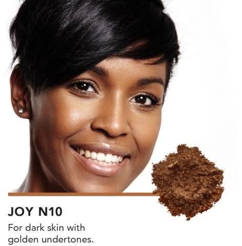 INIKA Loose Mineral Foundation SPF25 - Joy