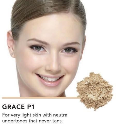 INIKA Baked Mineral Foundation Powder - Grace