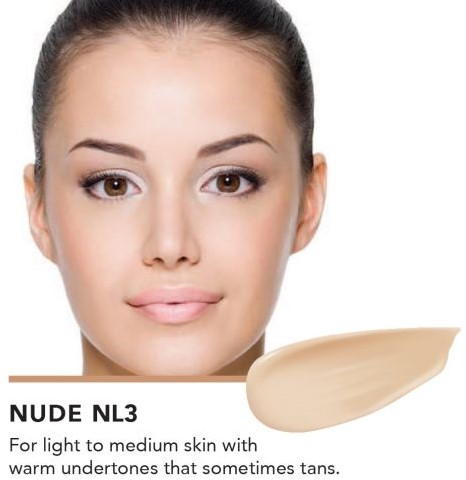 INIKA Biologische Liquid Foundation met Hyaluronic Acid - Nude