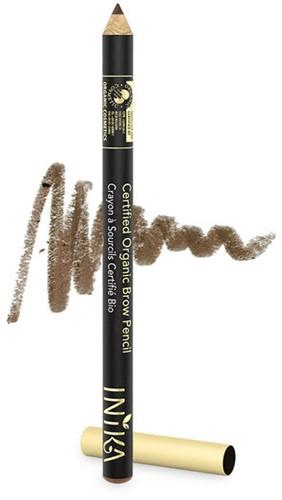 INIKA Biologische Brow Pencil - Brunette Beauty