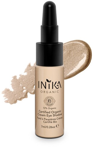 INIKA Biologische Cream Eye Shadow - Champagne