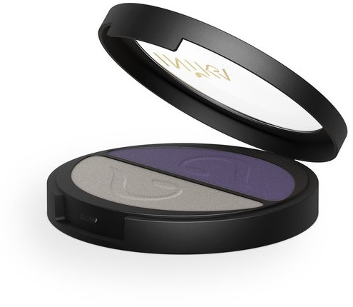 INIKA Pressed Mineral Eye Shadow Duos - Purple Platinum