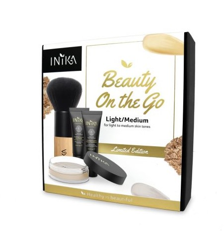 INIKA Beauty Set On The Go  - Light/Medium