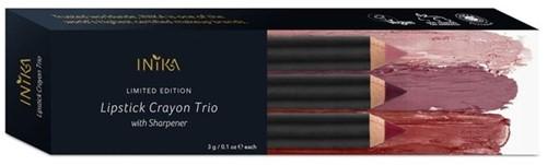 INIKA Lipstick Crayon Trio-2