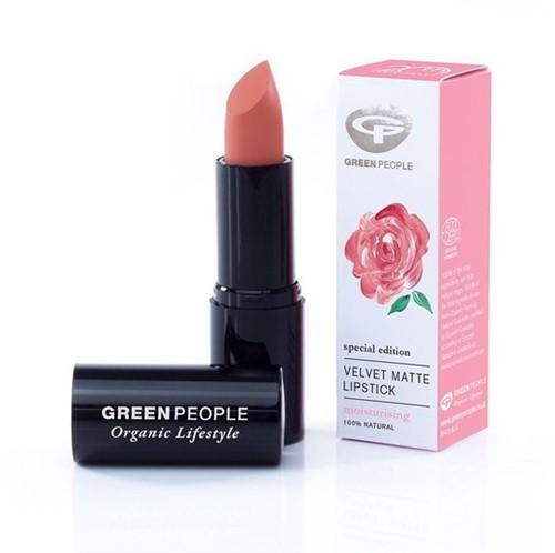 Green People Velvet Matte Lipstick