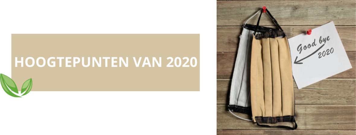 Hoogtepunten van 2020