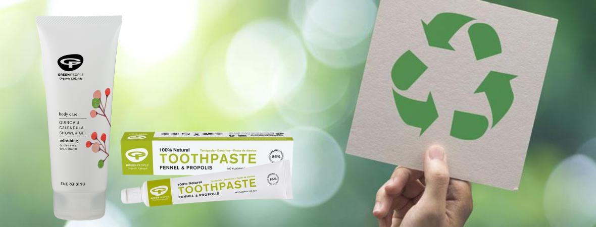 Hoe recycle je de verpakkingen van Green People?