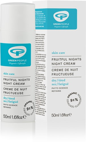 Green People Fruitful Nights (Nacht Crème)