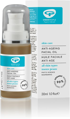 Green People Facial Oil - Anti Aging