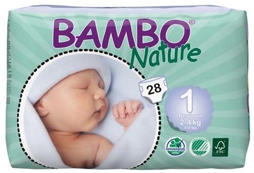 Bambo Nature Eco Luier - Newborn 1