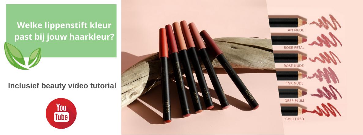 Welke kleur lipstick past bij jouw haarkleur?