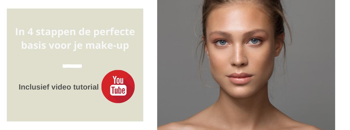 In 4 stappen de perfecte basis voor je make-up