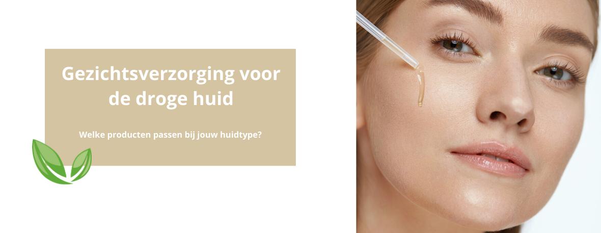 Gezichtsverzorging voor een droge huid