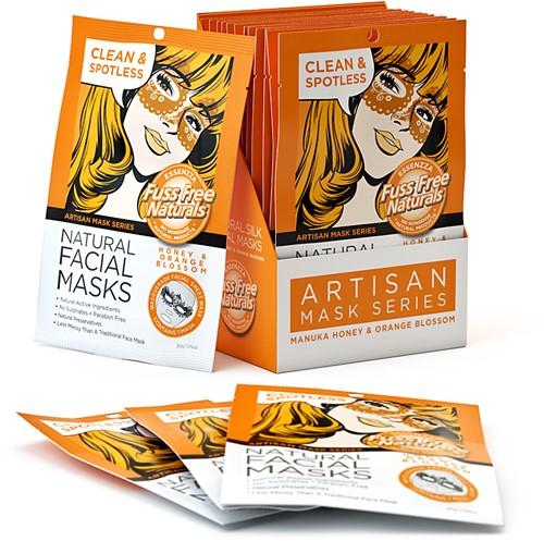 Fuss Free Manuka Honey & Orange Masker