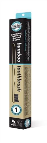 Fuss Free Bamboo Tandenborstel Soft 1 stuk
