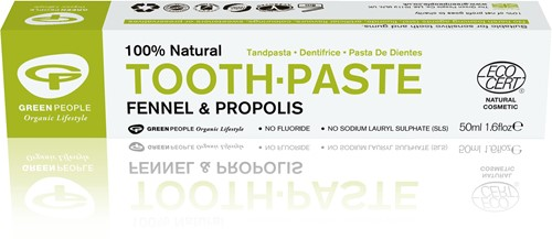 Green People Venkel & Propolis Tandpasta