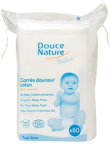 Douce Nature Baby Wattenvierkantjes