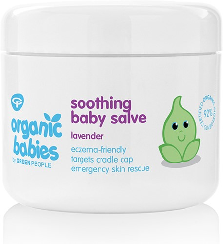 Green People Soothing Baby Salve Lavendel