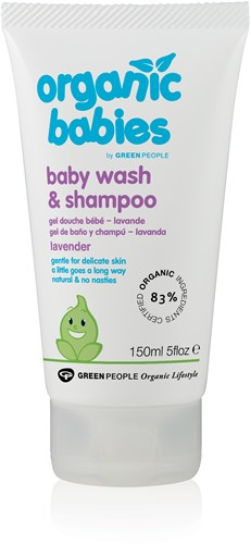 Green People Baby Was & Shampoo Lavendel
