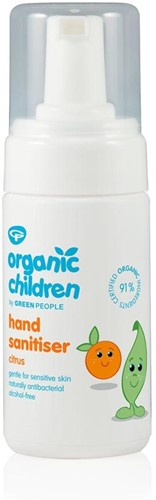 Green People Kids Hand Sanitiser