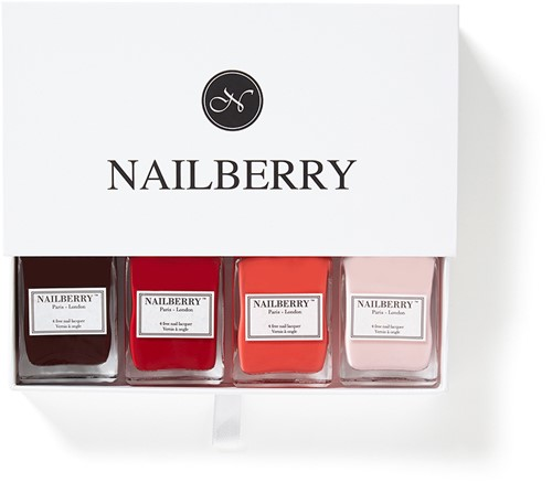 Nailberry - Cadeaubox voor 4 flesjes