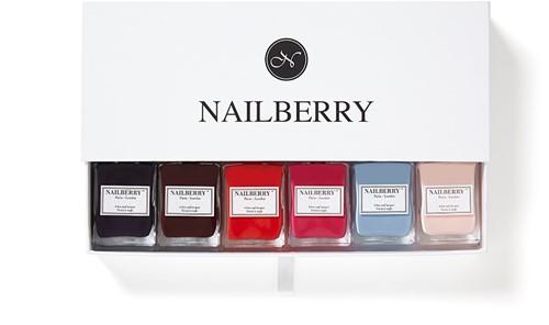 Nailberry - Cadeaubox voor 6 flesjes