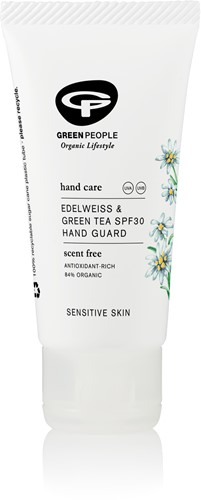 Green People Green Tea Handcrème - SPF 30