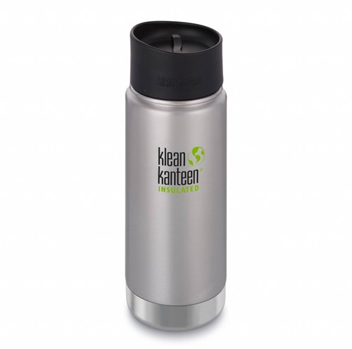 Klean Kanteen Wide Insulated Thermosfles 473ml RVS