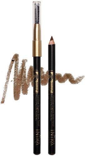 INIKA Biologische Brow Pencil - Brunette Beauty