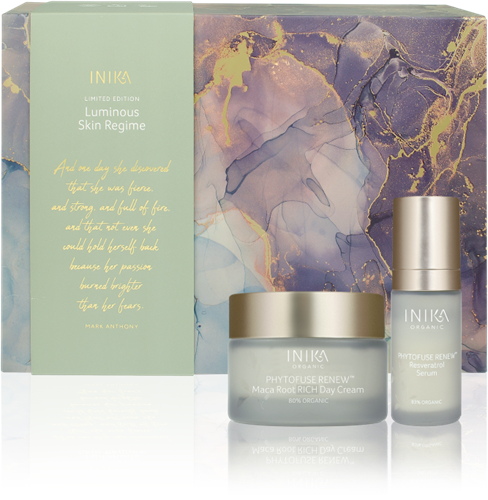 INIKA Luminous Skin Regime