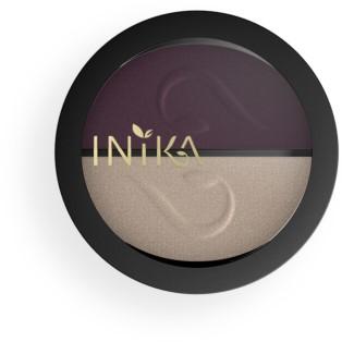 INIKA Pressed Mineral Eye Shadow Duos - Plum & Pearl