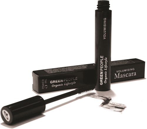 Green People Volume Mascara Zwart