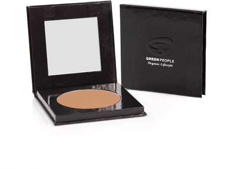Green People Pressed Powder - Caramel Medium