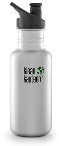 Klean Kanteen Classic 532ml Sport Dop Brushed Stainless
