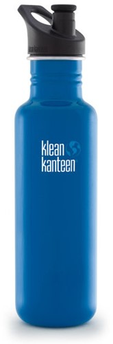 Klean Kanteen Classic 800ml Sport Dop Blue Planet