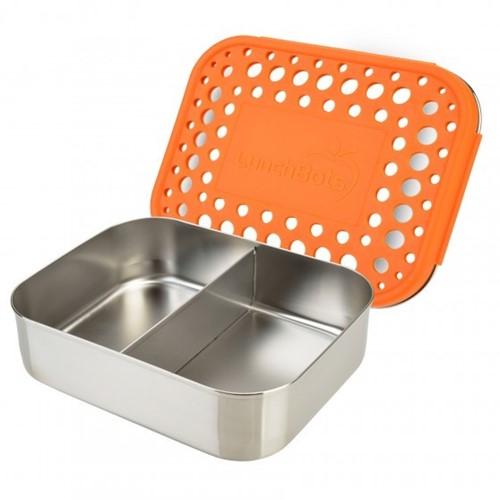 Lunchbots Broodtrommel DUO  - Oranje