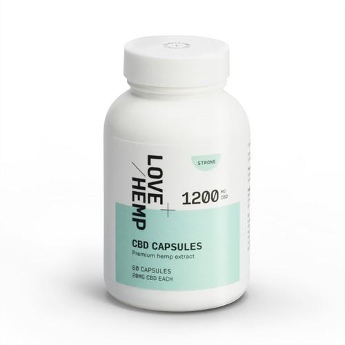 Love Hemp 1200mg CBD Capsules
