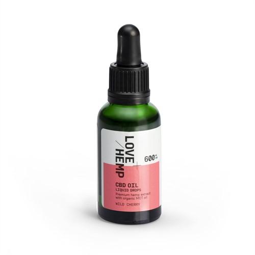 Love Hemp 600mg 2% CBD Oil – 30ml Wild Cherry