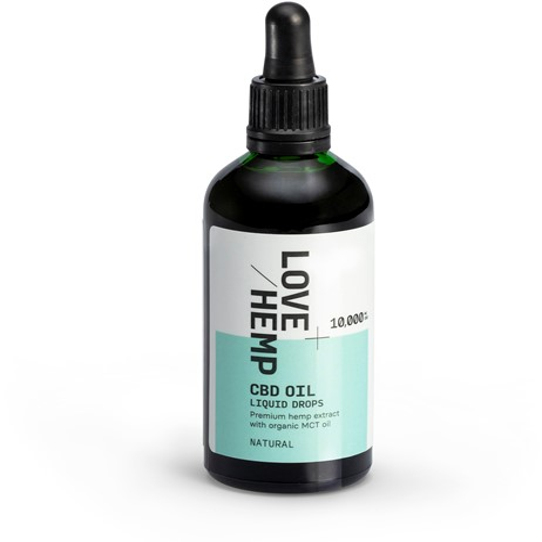 Love Hemp 10,000mg 10% CBD Oil – 100ml Natural