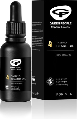 Green People No.4 Beard Oil