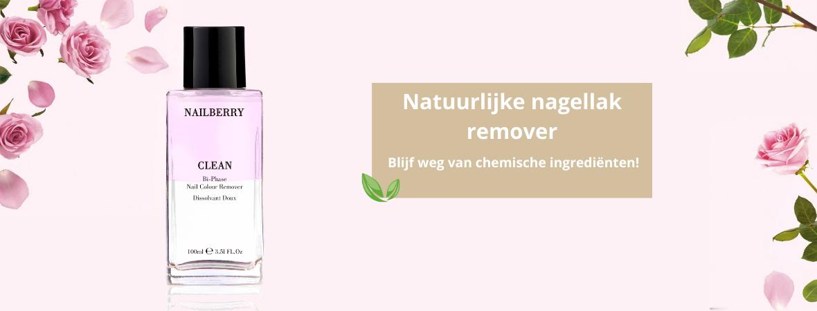 Natuurlijke nagellak remover, blijf weg van chemische ingrediënten!