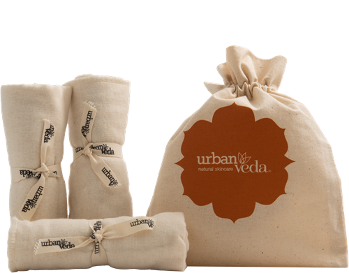 Urban Veda Organic Muslin Cloth(Set of 3)