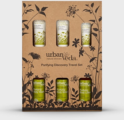 Urban Veda Purifying Complete Discovery Travel Set